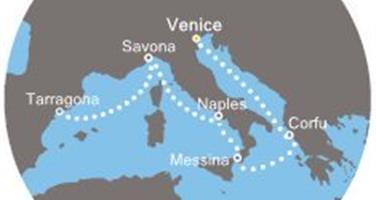 Costa Luminosa - Itálie, Řecko, Španělsko (z Benátek)