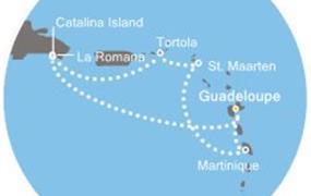 Costa Favolosa - Antily, Dominikán.rep., Panenské ostrovy (Pointe-a-Pitre)