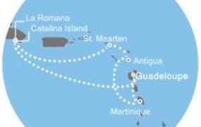 Costa Favolosa - Antily, Dominikán.rep. (Pointe-a-Pitre)