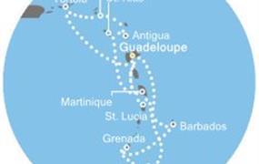 Costa Magica - Antily, Panenské ostrovy, Trinidad a Tobago (Pointe-a-Pitre)