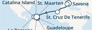 Costa Fortuna - Itálie, Francie, Kanárské ostrovy, Antily, Dominikán.rep., Panenské ostrovy (ze Savony)