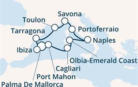Costa Victoria - Baleáry, Itálie, Španělsko (Palma de Mallorca)