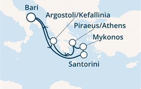 Costa Mediterranea - Itálie, Řecko (Bari)