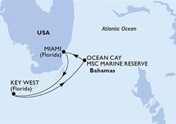 MSC Armonia - USA, Bahamy (z Miami)