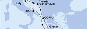 MSC Orchestra - Itálie,Řecko,Chorvatsko (z Benátek)