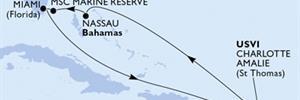 MSC Meraviglia - USA,Portoriko,Panenské ostrovy (U.S.),Bahamy