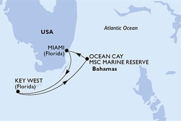 MSC Armonia - USA,Bahamy (z Miami)