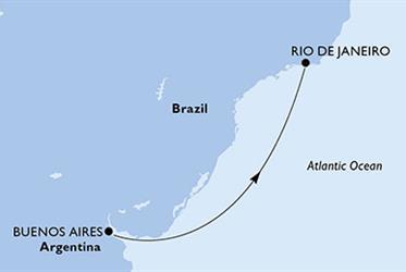 MSC Preziosa - Argentina,Brazílie (Buenos Aires)