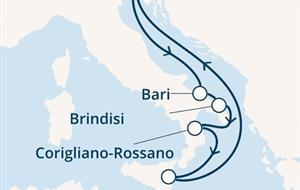 Costa Deliziosa - Itálie (z Terstu)