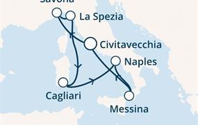 Costa Smeralda - Itálie (z Civitavecchie)