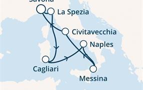 Costa Smeralda - Itálie (ze Savony)