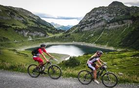 RAKOUSKO - Lechtalské Alpy (cykloturistika) - 2020!