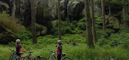 ČESKO - Lužické hory - České Švýcarsko - Šluknovský výběžek (cykloturistika)
