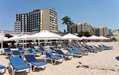 Hotel s pláží