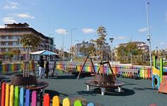 Dětské hřiště u severní pláže