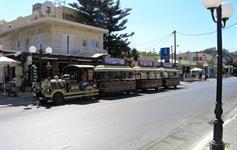 Turistický vláček Platanias-Agia Marina