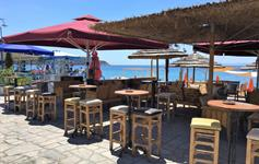 Restaurace a bary na pláži