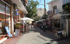 Ulička v městečku Potos