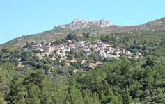 Horská vesnička Sotiros