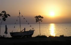 Západ slunce u Vila Theo
