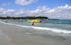 Pláž v Kitenu