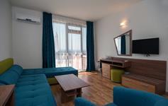 Jednoložnicový apartmán - obývací pokoj