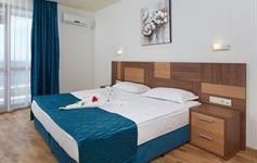 Jednoložnicový apartmán - ložnice