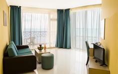 Jednoložnicový apartmán - obyvací pokoj