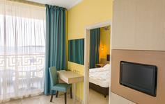 Jednoložnicový apartmán - vstup do ložnice