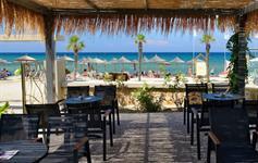 Bar u v zahradě pláže