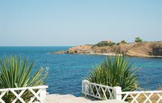 Pohled na moře z terasy