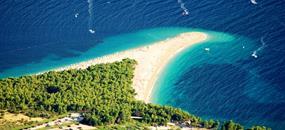 Chorvatsko Makarská riviéra s výlety v ceně, pobytově poznávací zájezd FIRST Minute 2018