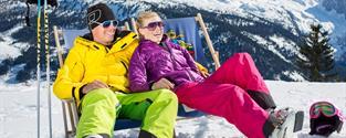 Lyžování v Rakousku LEDNOVÝ FESTIVAL CEN Dachstein West HOTEL+ polopenze wellness skipas delegát