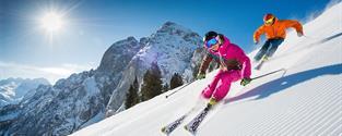 Lyžování v Rakousku Dachstein West jarní prázdniny vše v ceně, hotel+ polopenze skipas doprava
