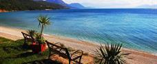 Luxusní klimatizovaný KARAVAN pro 5 osob, Makarská riviéra, Živogošče, kemp Boban First Moment