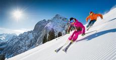 Lyžování Rakousko Dachstein West jarní prázdniny vše v ceně 3 dny skipas hotel polopenze doprava