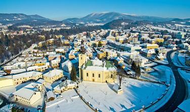 Silvestrovský pobyt Beskydy Valašsko Vila Hedvika Rožnov pod Radhoštěm hory lyže wellness