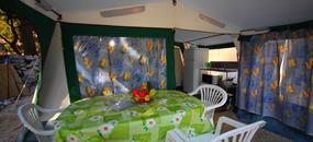 Vybavený luxusní STAN U MOŘE pro 2-6 osob AUTOBUSEM! Makarská riviéra Živogošče kemp DOLE