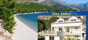 Chorvatsko levně Makarská Živogošče Villa ADRIA, doprava AUTOBUSEM 2021 sleva First Minute