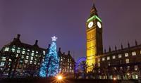 Vánoční Londýn a nákupy na Oxford street - letecky
