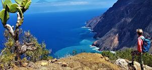 Pěší turistika na ostrově La Gomera ***
