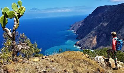 Pěší turistika na ostrově La Gomera