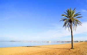 Čínské cvičení na Mar Menor