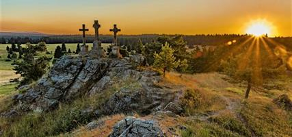 Zapadlé kouty Krušných hor a Slavkovského lesa