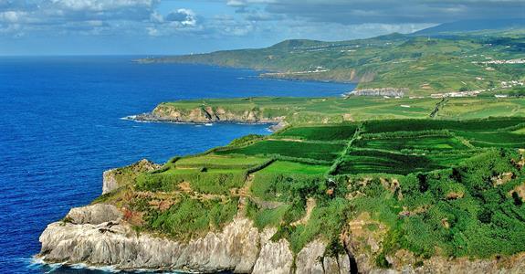 Azory - kombinace 3 ostrovů