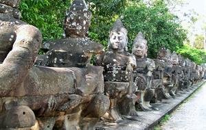 Angkor + pobyt na pláži