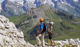 Francouzské a švýcarské Alpy - turistika nebo ferraty - Špičkové turistické trasy a via ferraty v jedné z nejkrásnějších oblastí Alp