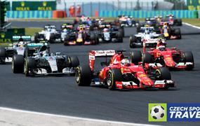 Hotel & vstupenka na F1 Maďarsko 2019