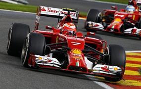 Formule 1 - Velká cena Itálie 2019 letecky