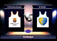 Basketbal Euroleague Barcelona - Chimki Moskva